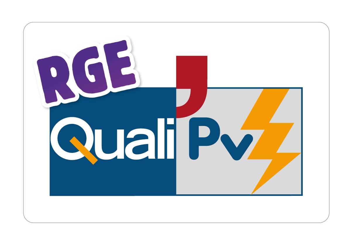 QualiPV-certified solar panel installation