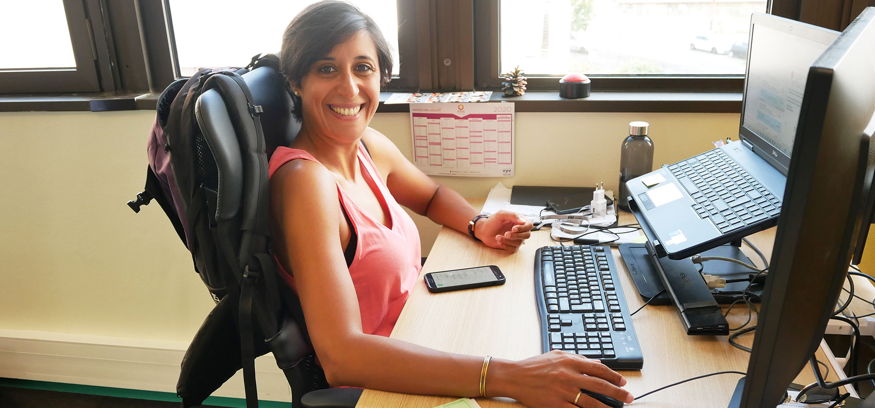 Linda Belabed, responsable supply chain