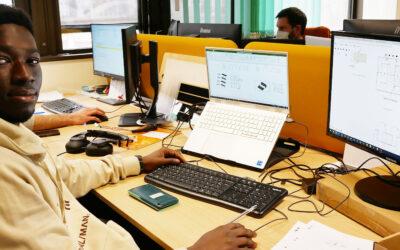 Ceux qui font LANCEY #8: Abdoul-KarimMAIGA assiste l'équipe R&D électronique de puissance