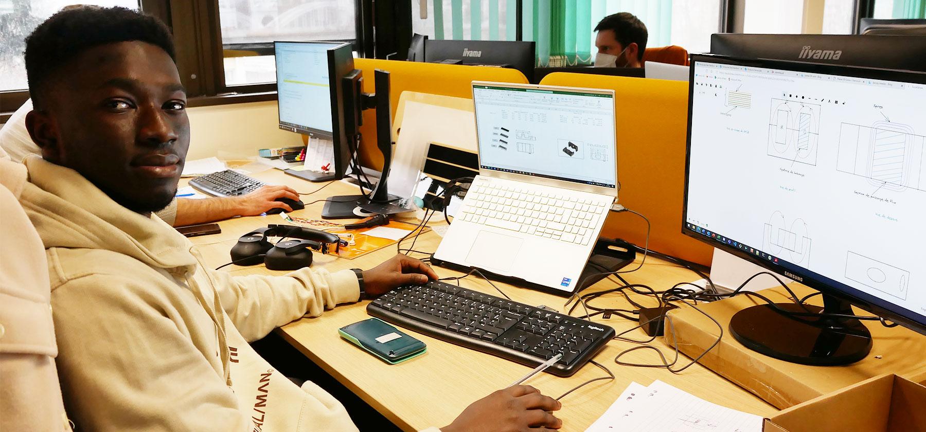 Abdoul-Karim MAIGA, ingénieur électronique de puissance