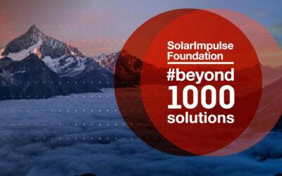 Solar impulse : LANCEY parmi les 1000 solutions pour changer le monde